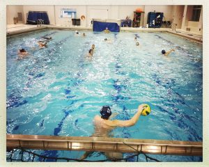 water polo at South Park High School