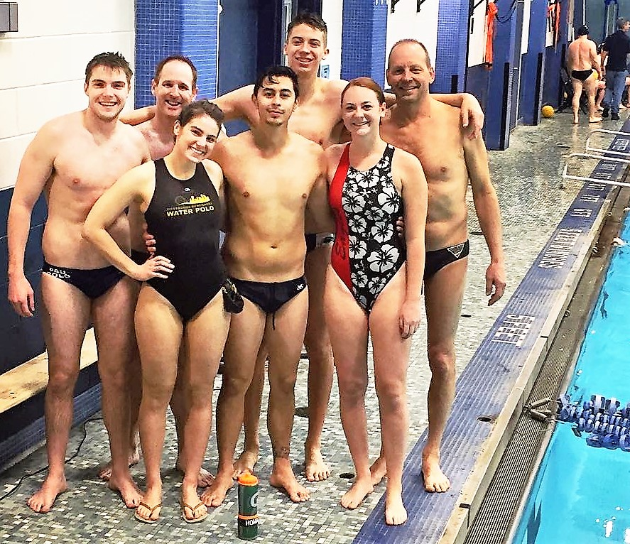 Seven adult water polo players in Philly event