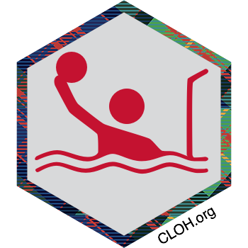 CMU Water Polo digital badge