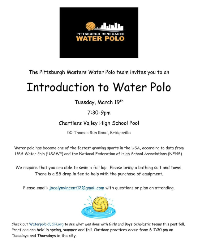 Introduction To Water Gardening: Introduction To Water Polo At Chartiers Valley High School