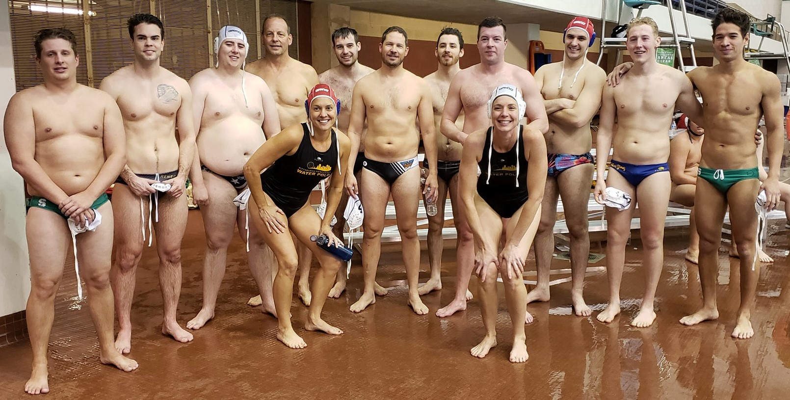 Renegades water polo team in Cleveland