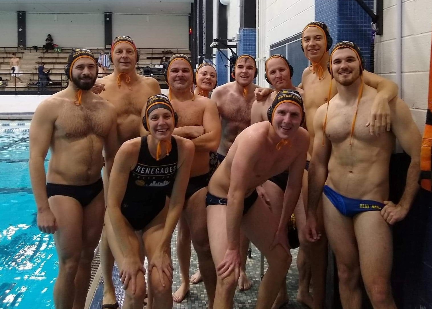 water polo players from HAWKS and Renegades