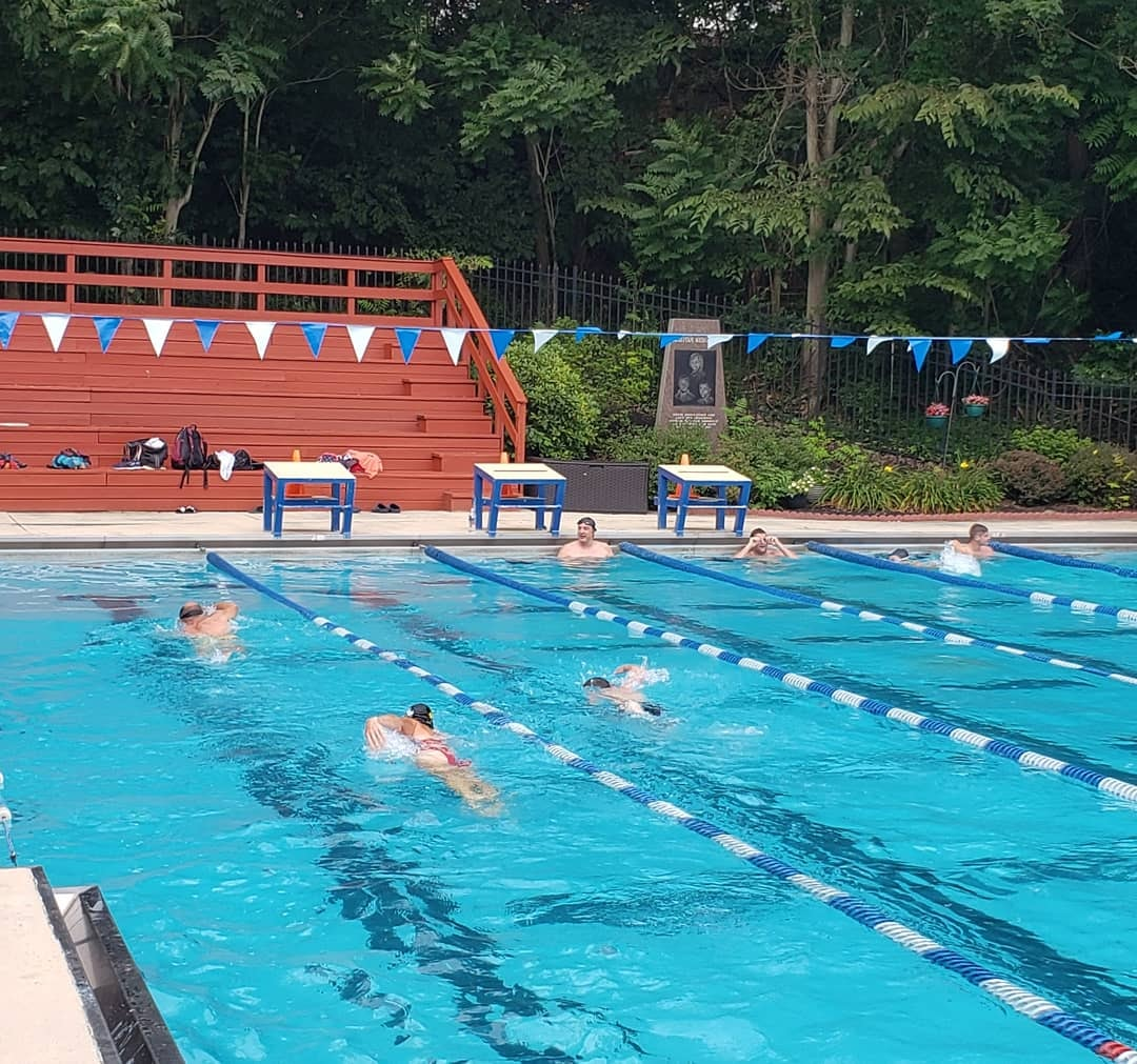 Outdoor swim, LC, in Penn Hills