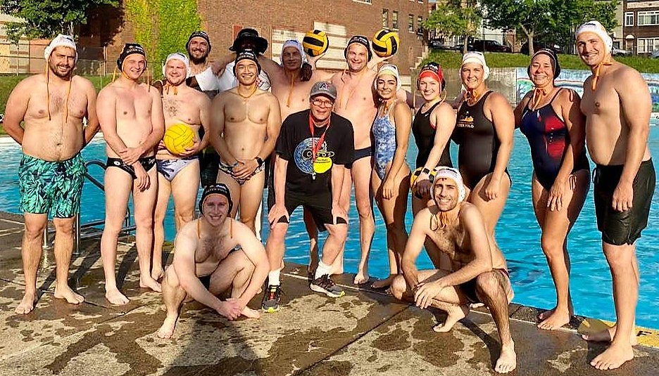 Water polo in June 2021 at Ammon